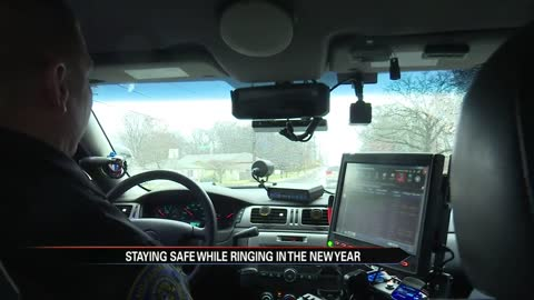 Officials take to the road to prevent impaired and dangerous driving on New Year's Eve