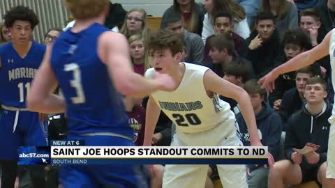 St. Joe's JR Konieczny discusses Notre Dame hoops commitment