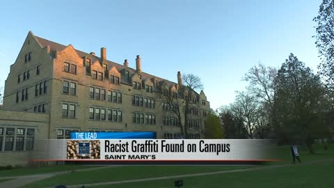 Saint Mary's College responds to racist graffiti found on campus