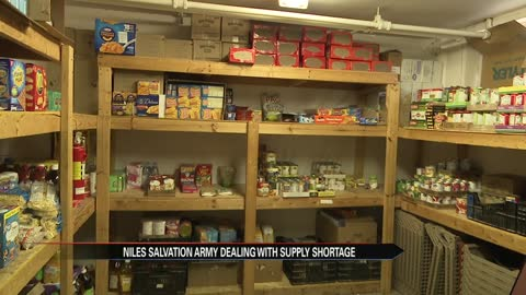 Salvation Army in Niles asks for donations after a reported shortage...