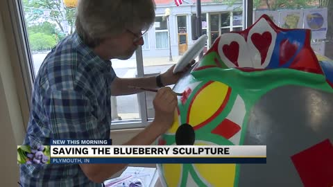 Plymouth organizations, artist working to rebuild sculpture damaged by historic flooding