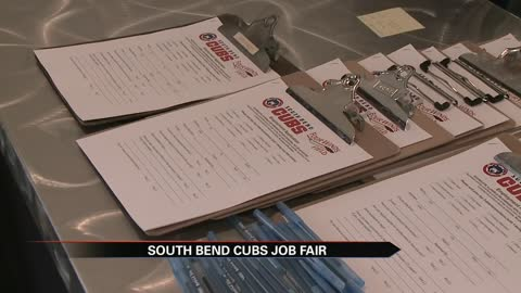 South Bend Cubs host job fair