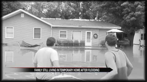 A South Bend family is still battling the flood's aftermath