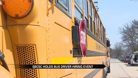 South Bend school district addresses bus driver shortage with hiring event