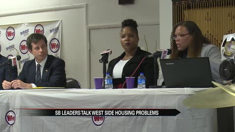 South Bend leaders talk housing problems on the city's west side