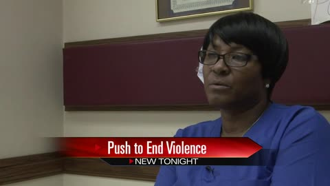 Community leaders and victim's grandmother call for end to violence