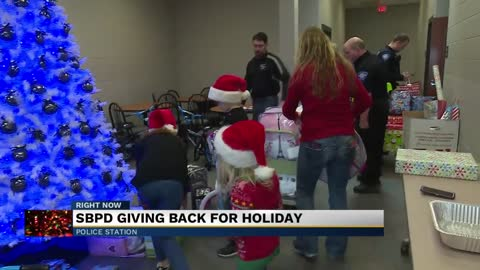 SBPD giving back for the holidays