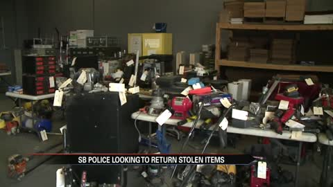 More than $100,000 worth of stolen property recovered