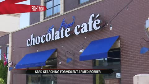 Police investigating armed robbery at the South Bend Chocolate Cafe