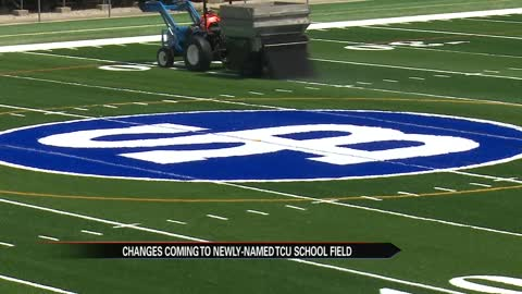 School Field's summer renovation nearing completion