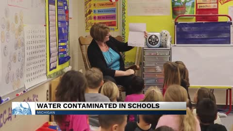 Fluorochemicals detected in water from Michigan schools