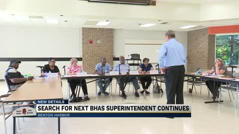 The search for the next Benton Harbor Area Schools Superintendent continues