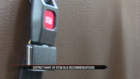 Local school districts react to new school bus safety recommendations