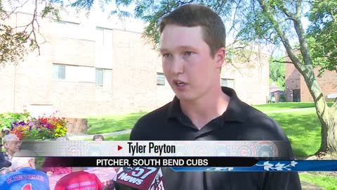 Second South Bend Cubs player moves into St. Paul's