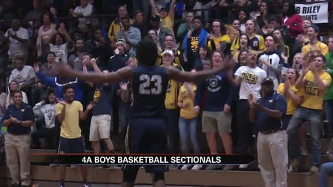Sectional championship matchups set in Indiana; Michigan district scores