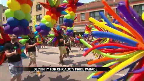 Security for Chicago's Pride Parade