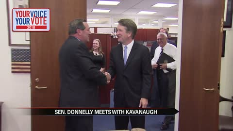 Senator Donnelly meets with Supreme Court nominee
