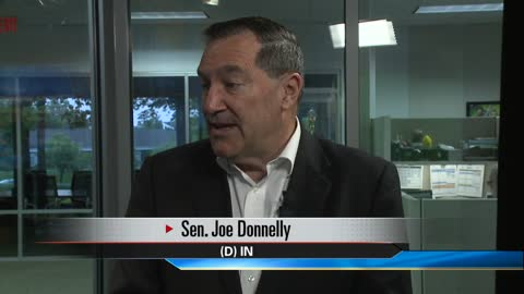 Senator Joe Donnelly shares thoughts on newly proposed legislation, nationwide issues