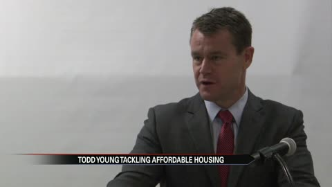 Senator Young rallies support for new bill tackling affordable housing crisis