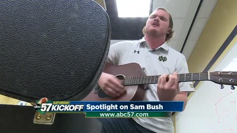 Senior Sam Bush expresses himself through music