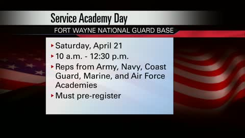 Service Academy Day announced for prospective students in Indiana
