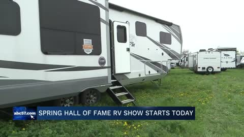 Seventh annual Spring Hall of Fame RV show held in Elkhart