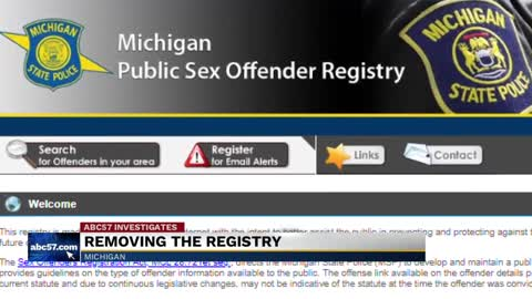 National sex offender registry michigan