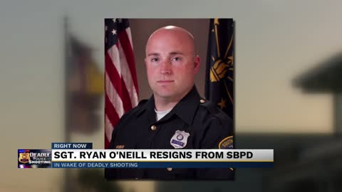 Sergeant Ryan O'Neill has resigned from the South Bend Police...