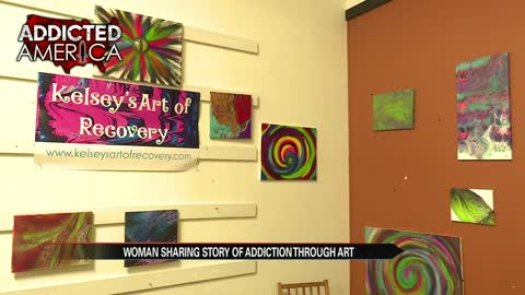Artist from Elkhart sharing her drug recovery story through art
