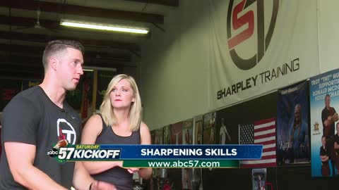 Sharpley Training: Former Notre Dame QB and Miss Indiana helping local athletes