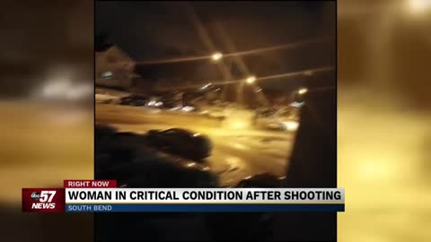 Viewer shares video from near the scene of Michigan Street shooting
