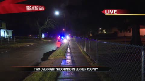Shooting under investigation in Benton Harbor