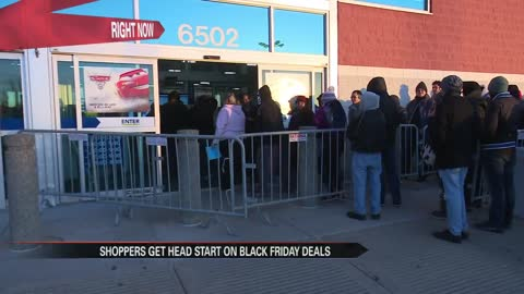 Shoppers take advantage of early Black Friday deals