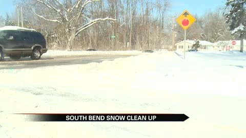 Tuesday brings clear side roads for South Bend