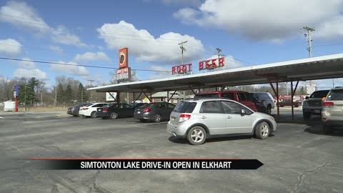 Simonton Lake Drive-In is now open for the season