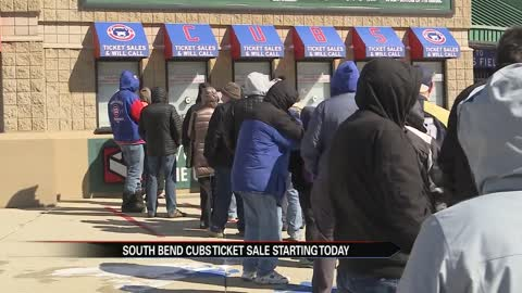 Single game tickets for the South Bend Cubs go on sale March 6