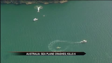Six dead in Australia seaplane crash