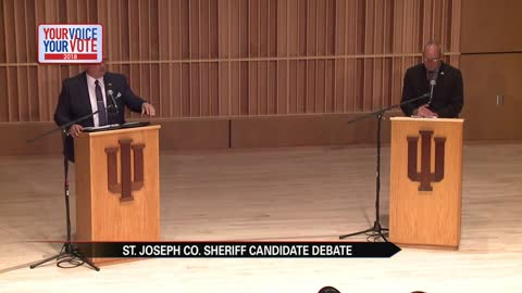 St. Joseph County sheriff candidates face off in first debate