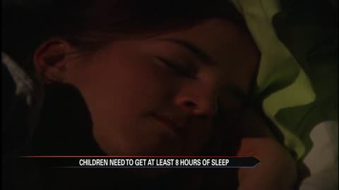 Experts warn of sleep deprivation in kids as school starts