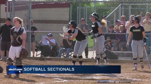 Softball sectionals continue; title games set