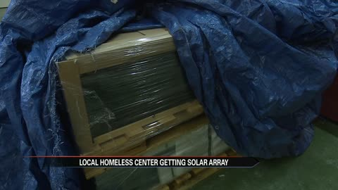 Solar panel project cuts costs for local homeless center