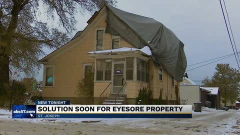 Solution for eyesore property in St. Joseph, Michigan
