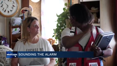The American Red Cross kicks off Sound the Alarm campaign
