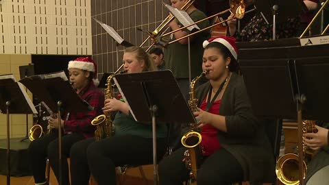 Sounds of the Season: Clay High School Jazz Band