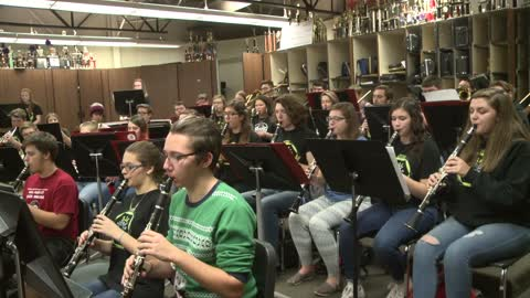 sounds of the season knox high school band