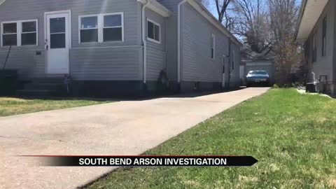 Arson investigation on south side of  South Bend