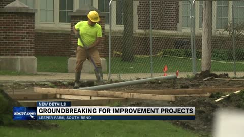 South Bend breaks ground on Leeper Park revitalization