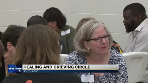 South Bend community talks restorative justice, trust at first...