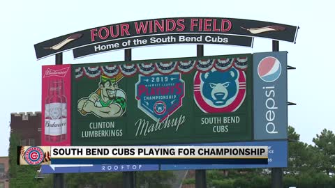 South Bend Cubs hosting first two games of Midwest League Championship