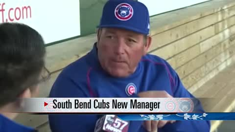 South Bend Cubs Manager Buddy Bailey